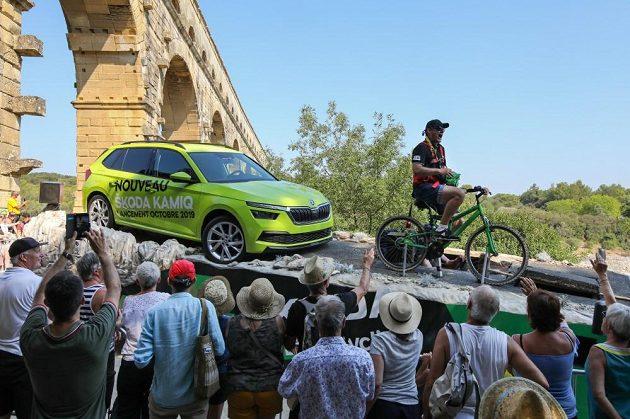 Reklamní karavana na Tour de France 2019.