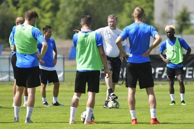 Úvodní trénink přípravy fotbalistů Plzně na novou sezonu