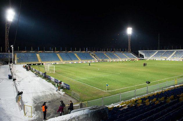 Stadión v Rostově během tréninku Sparty Praha před utkáním Evropské ligy.