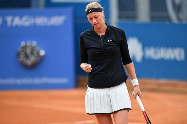 Petra Kvitová v semifinále turnaje J&T Banka Prague.