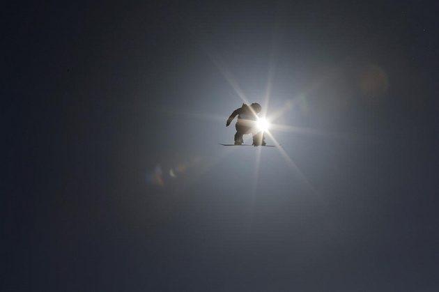 Trénink na olympisjký slopestyle na ZOH v Soči.
