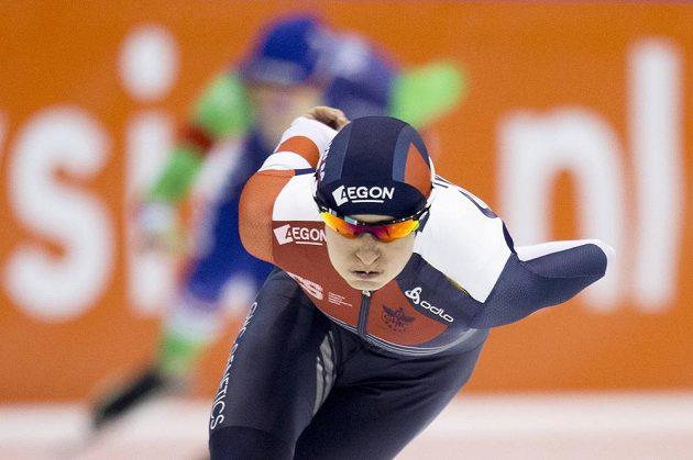 Martina Sáblíková zahájila MS v Heerenveenu zlatou medailí.