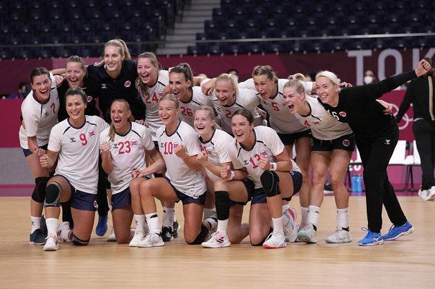 Norské házenkářky se v semifinále utkají s Ruskami