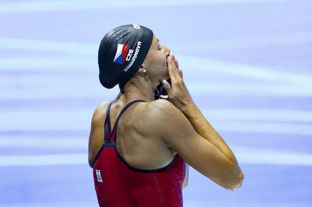 Česká radost! Kraulařka Barbora Seemanová je mistryní Evropy na 200 m, Česko má titul po devíti letech.