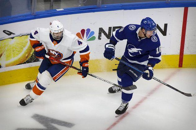 Druhý zápas mezi Tampou a Islanders rozhodla branka devět sekund před koncem