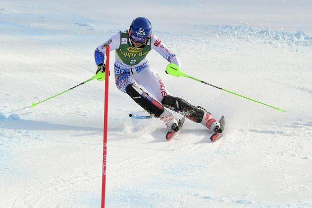 Slovenská lyžařka Petra Vlhová vyhrála slalom Světového poháru v Kranjské Goře.