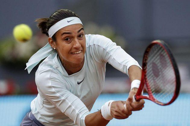 Caroline Garciaová v souboji s Petrou Kvitovou.