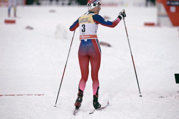 Norka Heidi Wengová po chybě místo jásání z umístění na stupních musela znovu na trať.