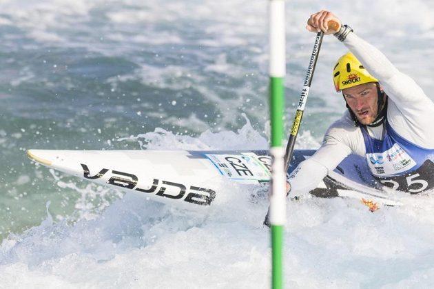 Michal Jáně v semifinále mistrovství světa v Londýně.