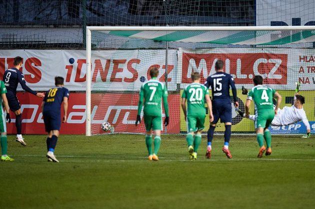 Jan Kliment ze Slovácka proměňuje první nařízenou penaltu