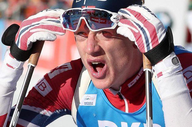 Nor Johannes Thingnes Bö vyhrál sprint v Anterselvě.