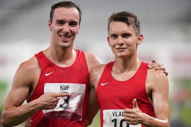 Zleva Jan Kuf a Martin Vlach.