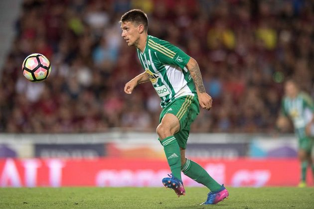Milan Kocič z Bohemians mohl na konci ligového derby se Spartou slavit remízu 1:1.