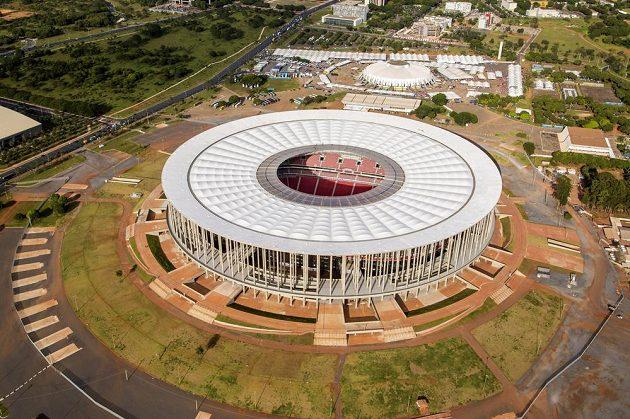 Estádio Nacional v Brasilii.