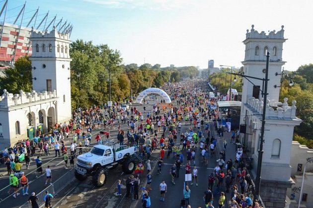 Varšava nabízí běžcům kromě jiného i dostatek prostoru.