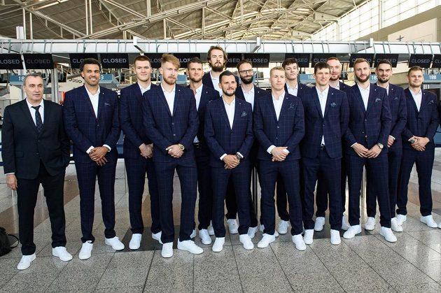 Tým české basketbalové reprezentace odletěl na MS 2019 do Číny.