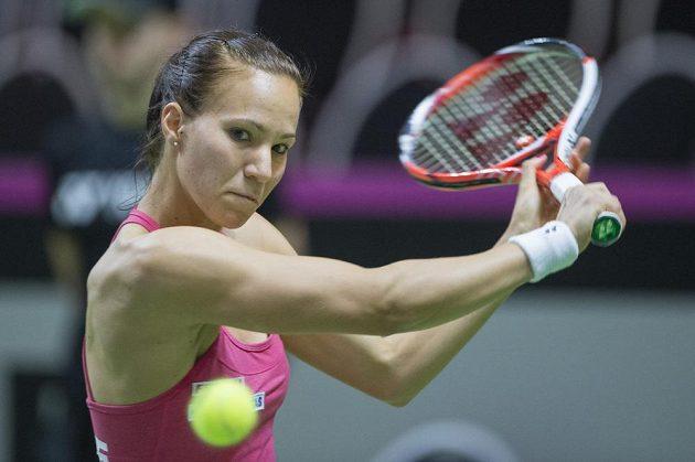 Viktorija Golubicová dokázala otočil vývoj zápasu s favorizovanou Karolínou Plíškovou.
