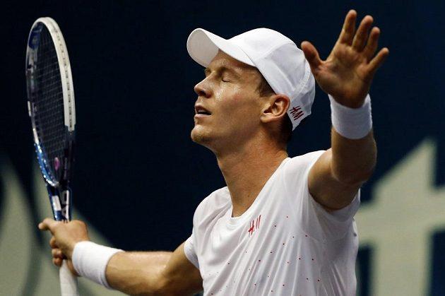 Dobojováno! Tomáš Berdych je v Bangkoku ve finále.