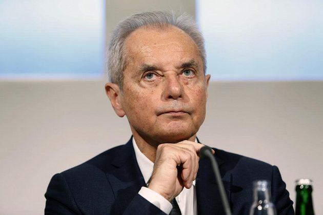 Prezident fotbalové Slavie Jiří Šimáně.