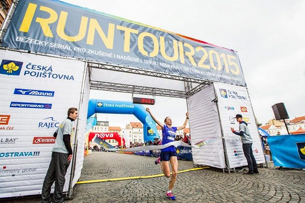 Vítězka Lucie Sekanová.
