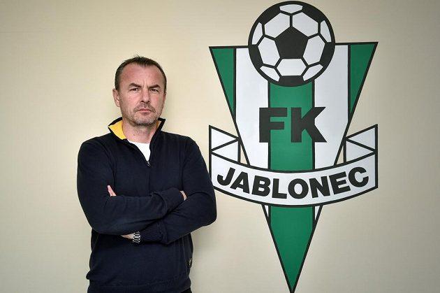 Trenér Zdenko Frťala se pokusí na jaře zlepšit výsledky jabloneckých fotbalistů.