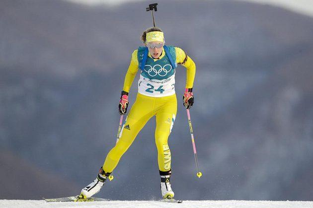 Vítězná Švédka Hanna Öbergová.