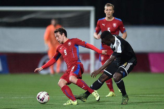 Jakub Fulnek (vlevo) z ČR a Ibrahima Cissé z Belgie.