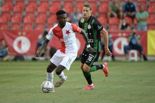 Slavia hostila v odvetném utkání třetího předkola LM Ferencváros Budapešť