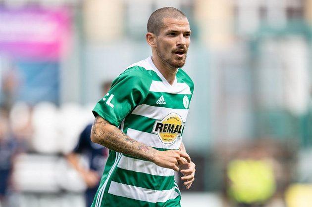 David Bartek z Bohemians během utkání 1. kola Fortuna ligy se Slováckem.