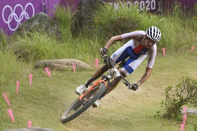 Ondřej Cink olympijský závod nedokončil.