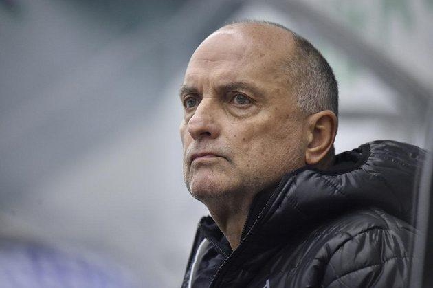 Trenér hokejistů Litvínova Vladimír Kýhos.