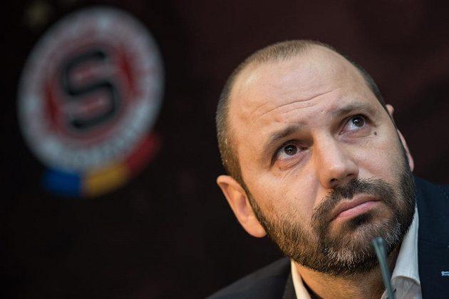 Tomáš Požár, nový hlavní trenér Sparty.