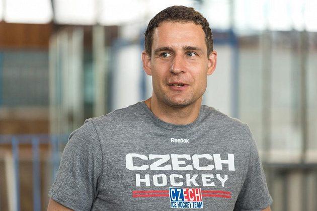 Člen realizačního týmu hokejové reprezentace Jiří Fischer.