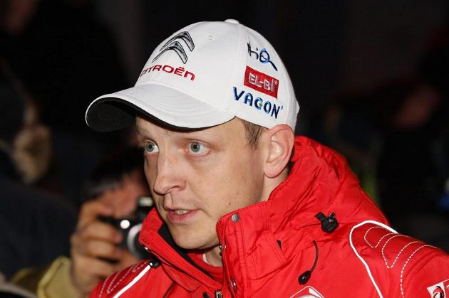 Mikko Hirvonen, pilot továrního týmu Citroën.