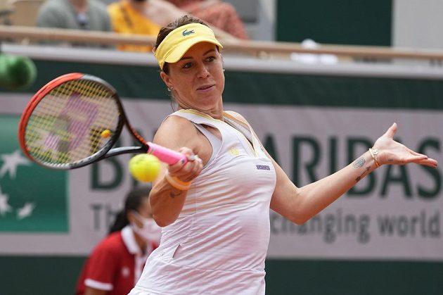 Anastasia Pavljučenkovová na returnu
