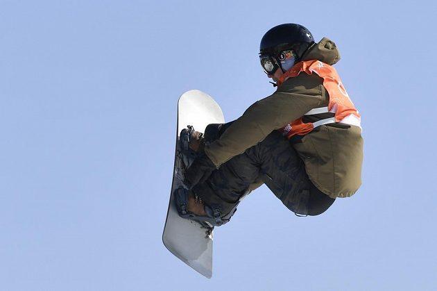 Český snowboardista Petr Horák na ZOH v Pchjončchangu.