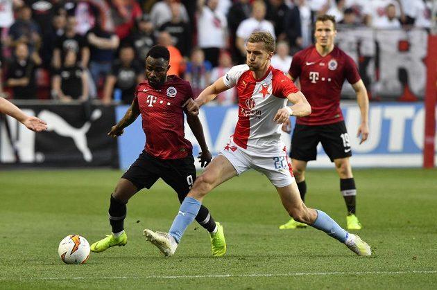 Slavia vstoupila do utkání velkým tlakem