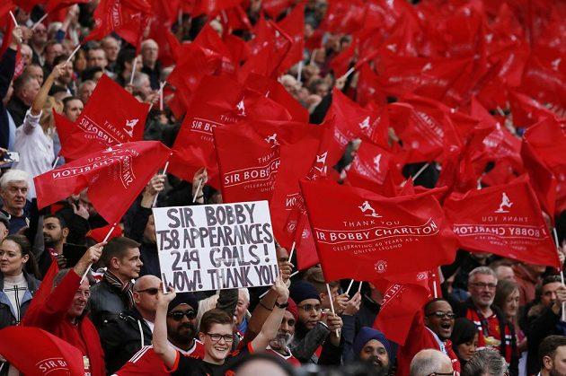 Fanoušci Manchesteru United uvítali svou legendu...