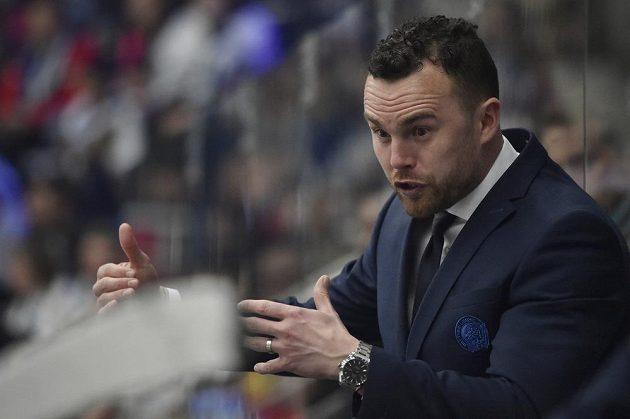 Trenér hokejového Liberce Filip Pešán.