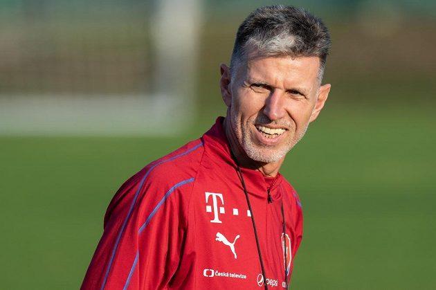 Trenér české fotbalové reprezentace Jaroslav Šilhavý.