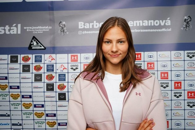 Plavkyně Barbora Seemanová.