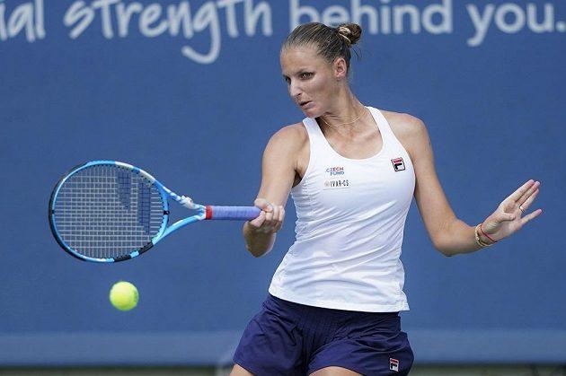 Karolína Plíšková bojovala po postup do čtvrtfinále