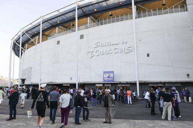Fotbalový stadión v Toulouse, kde se česká reprezentace utká na ME 2016 s Španělskem.