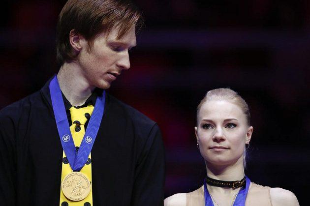 Jevgenija Tarasovová Vladimir Morozov z Ruska.