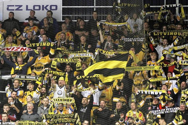 Fanoušci Litvínova se v Chomutově radovali, měli důvod, brali tři body.