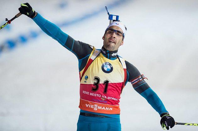 Martin Fourcade ovládl sprint mužů v Novém Městě na Moravě.