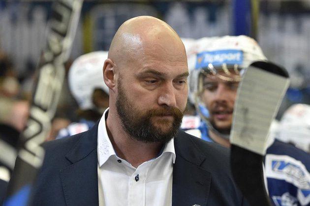 Šéf brněnské střídačky a majitel Komety Libor Zábranský.