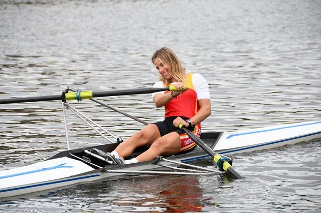 I takový sportovní talent jako Ester Ledecká s jízdou na skifu boojval.