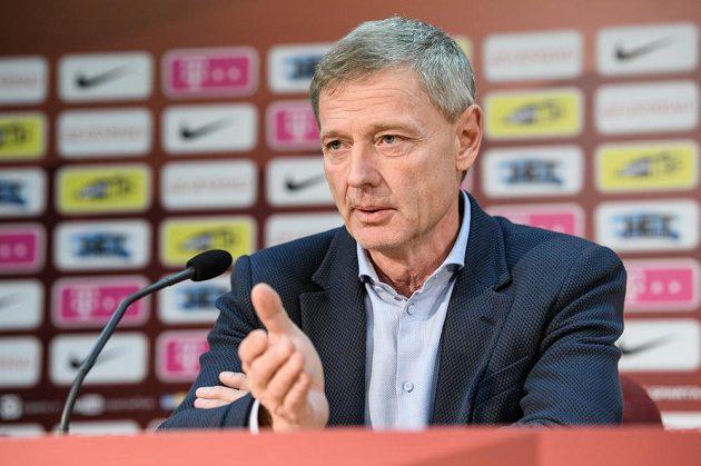 Sportovní ředitel Sparty Praha Zdeněk Ščasný.