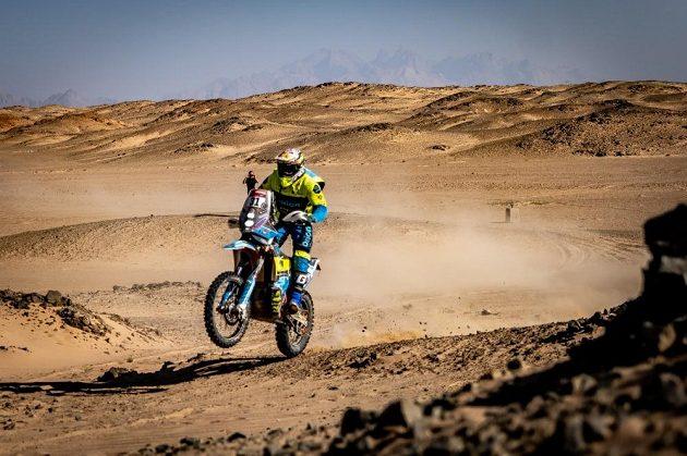 Martin Michek v 9. etapě Rallye Dakar